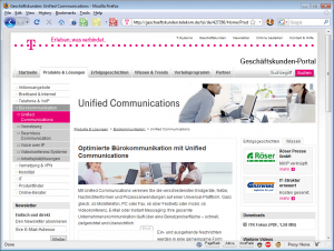 Telekom Landeseite Unified Communications